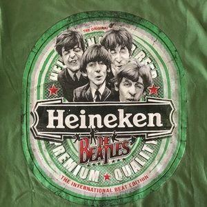 The Beatles Heineken T-Shirt Top